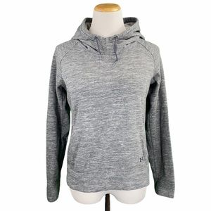 Under Armour Gray Semi-Fitted Pullover Hoodie
